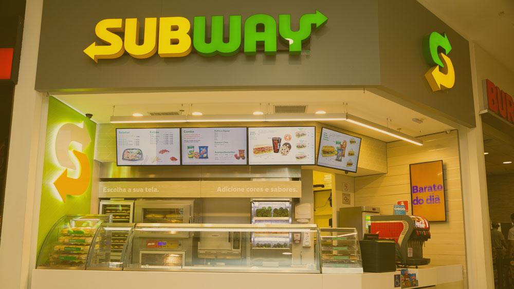 Quanto custa uma franquia Subway?